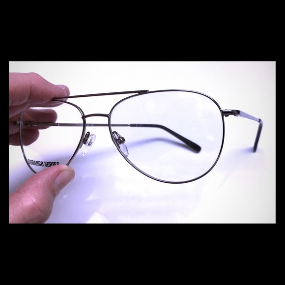 57703083b2a5 New Aviator UNISEX Metal Eyeglass Frame
